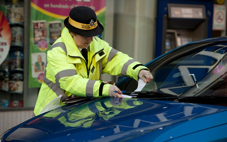 Parking Ticket While Doing Nothing Wrong